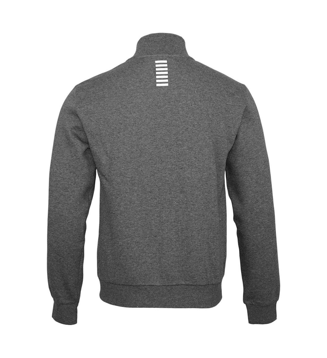 EA7 Empori Armani Sweatshirt Trainingsjacke 6YPM55 PJ07Z 3925 Dark Grey Melange HW17-EATJ1